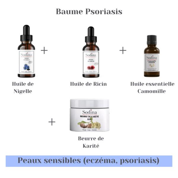 Baume peaux sensibles (Psoriasis)